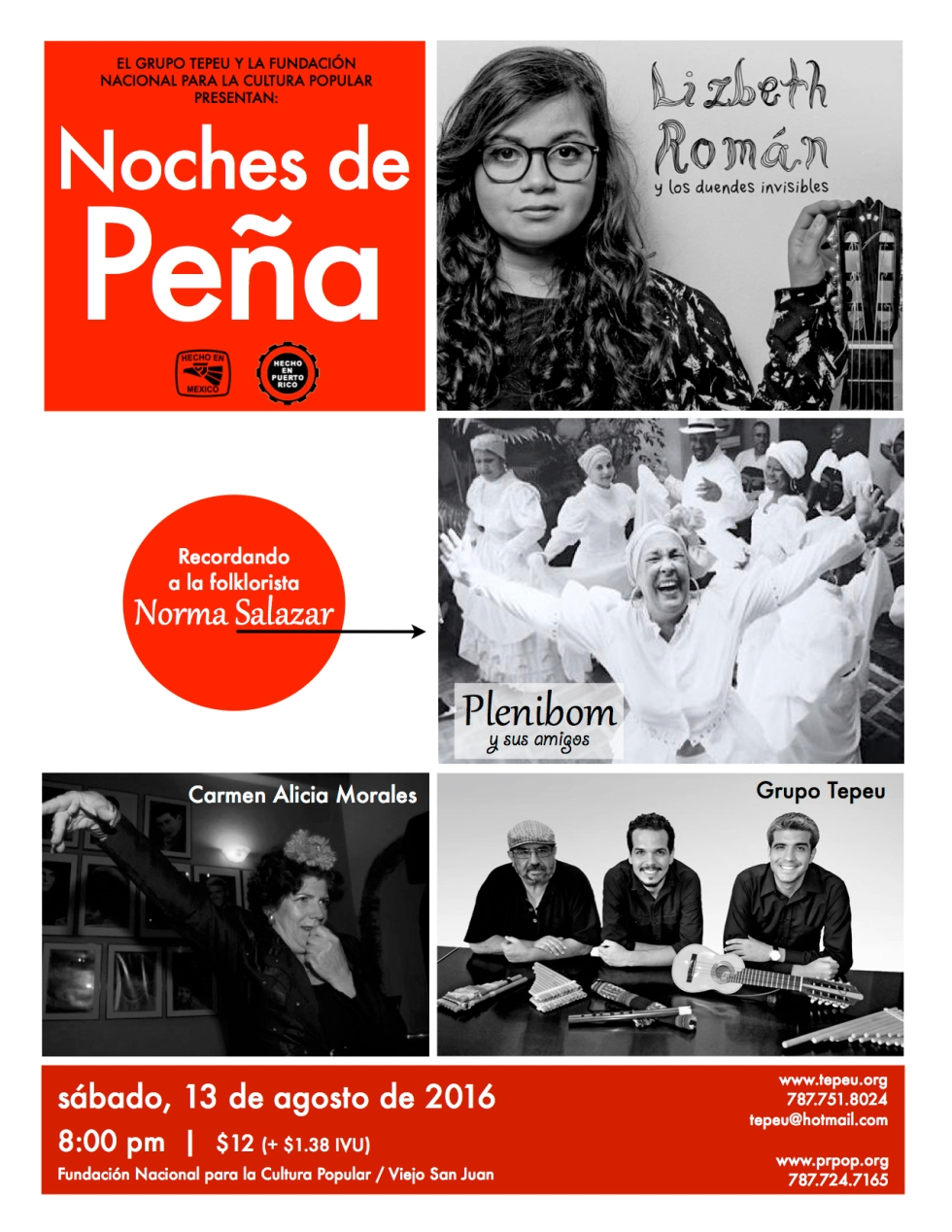 Noches de Peña Norma Salazar